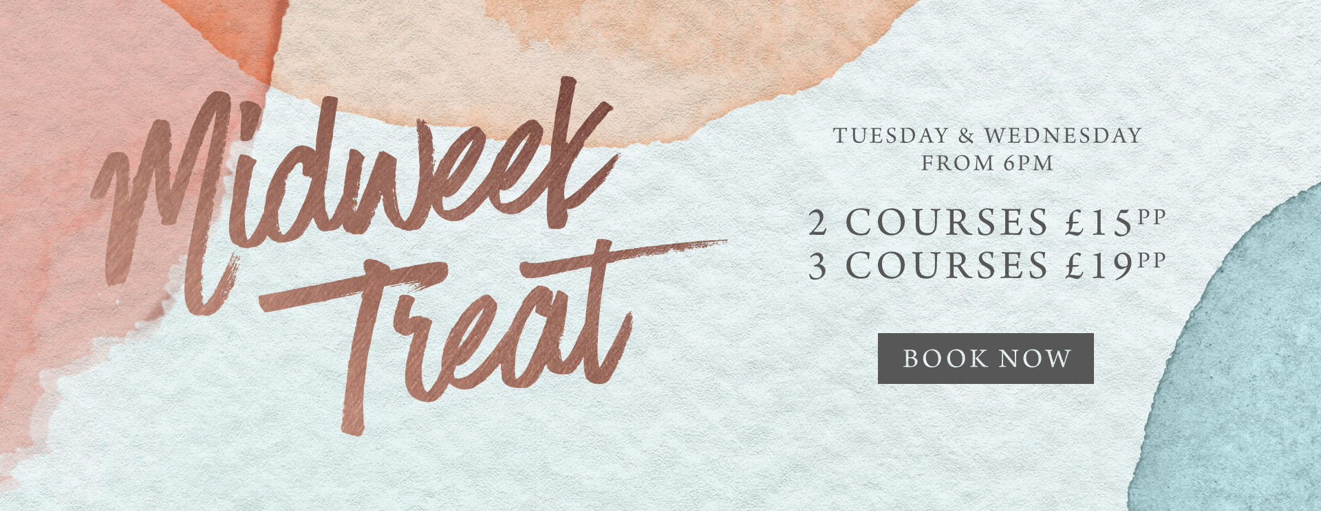 Midweek treat at The Spade Oak - Book now